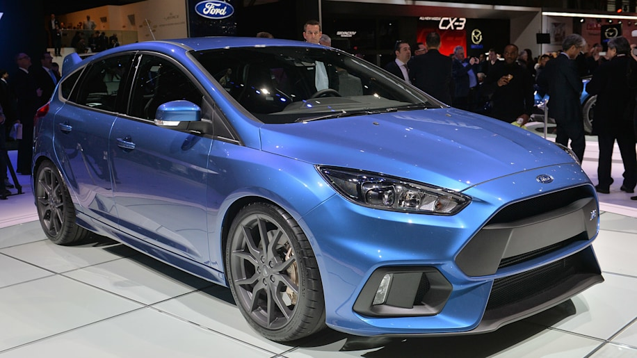 2016 ford focus rs shows up in geneva still bound for america w video autoblog. Black Bedroom Furniture Sets. Home Design Ideas