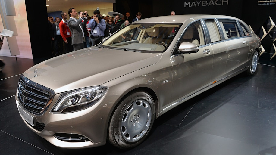 Mercedes rolls out the long red carpet for new Maybach S600