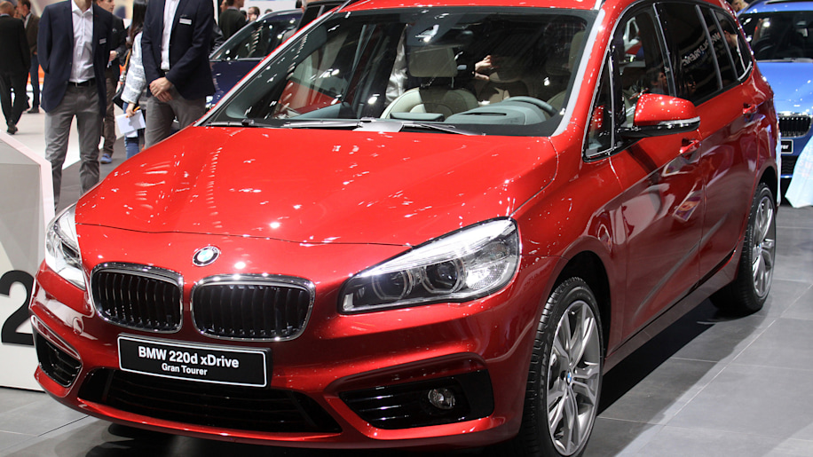 BMW Series Gran Tourer Is A Minivan By Any Other Name Autoblog - Bmw 2 series gt