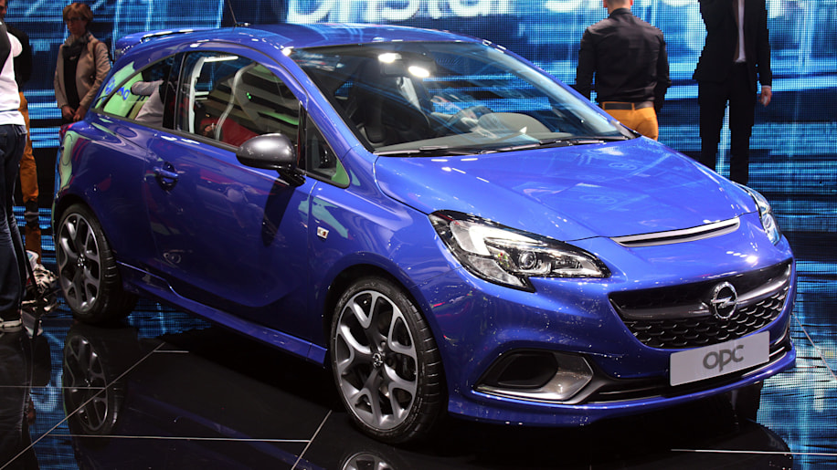 opel corsa opc powers up for geneva autoblog. Black Bedroom Furniture Sets. Home Design Ideas