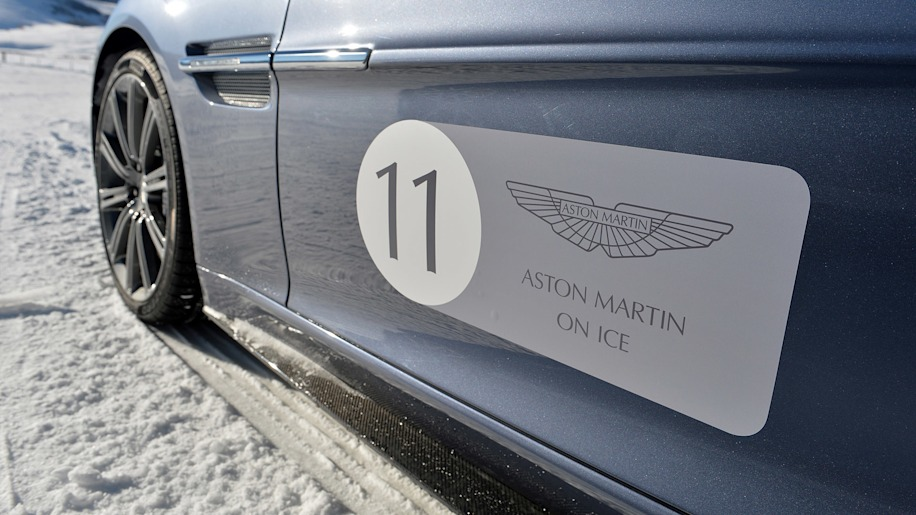 Aston Martin On Ice reminds us how fun winter can be
