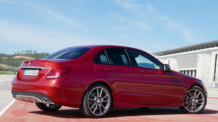 2016 mercedes benz c450 amg sport first drive autoblog for Mercedes benz c450 amg review