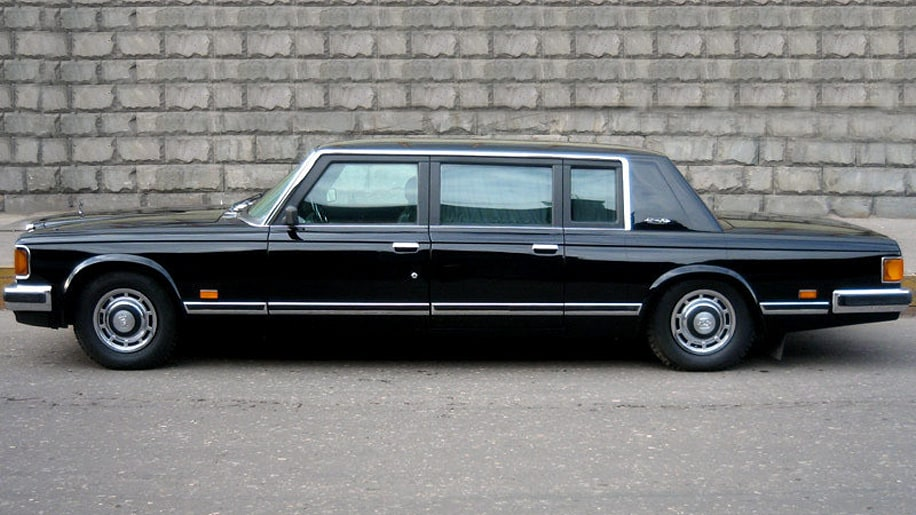Supposed former ZIL limo of Gorbachev and Yeltsin on sale for 16