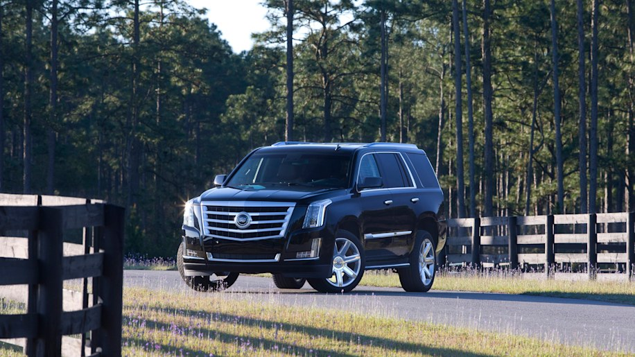 Best Luxury Large SUV For Families: Cadillac Escalade