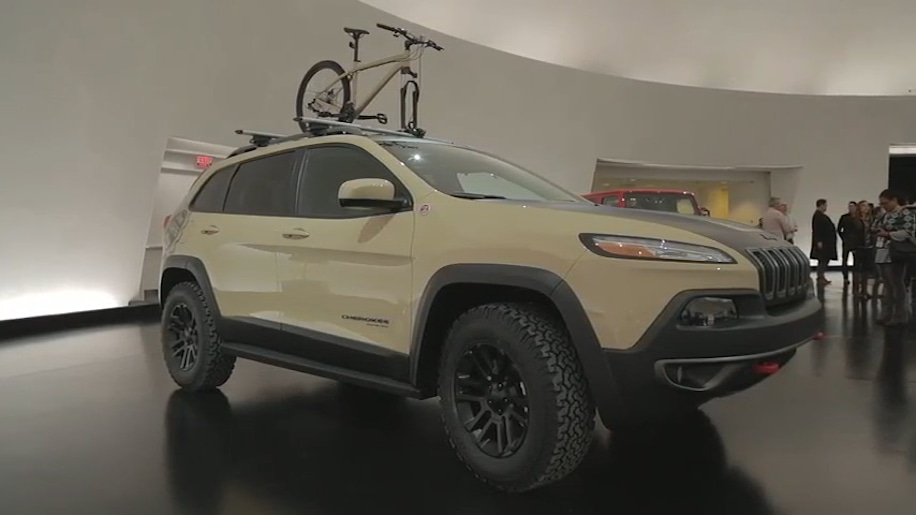 2015 Easter Jeep Safari Concepts: Jeep Cherokee Canyon Trail