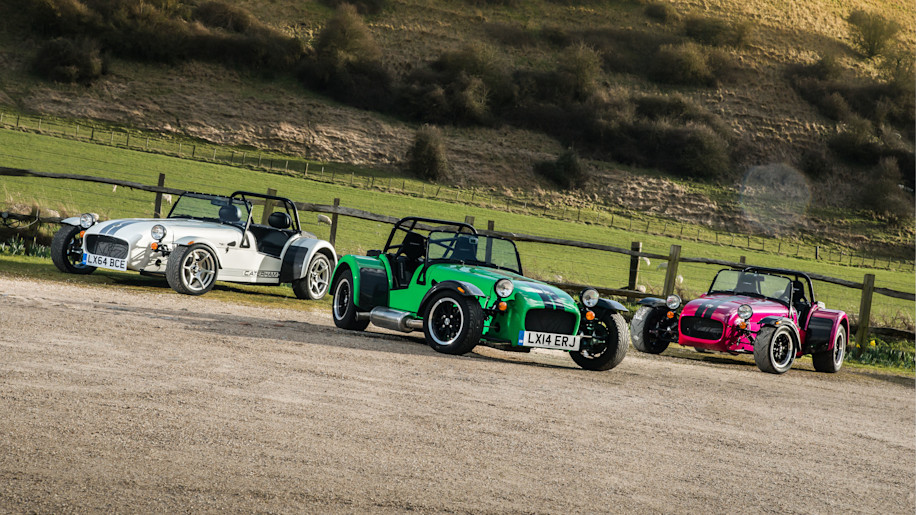 Caterham Seven 270, 360 and 420