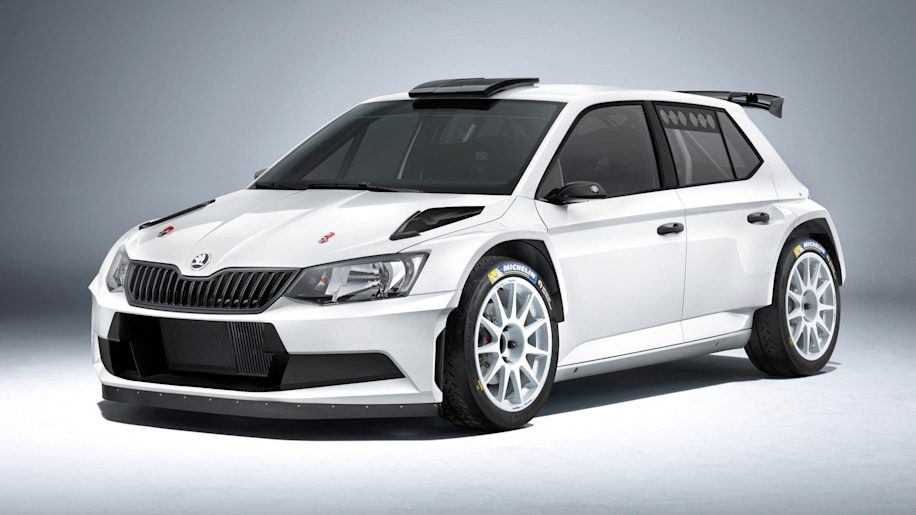 Skoda Fabia R5 ready to hit the rally stage