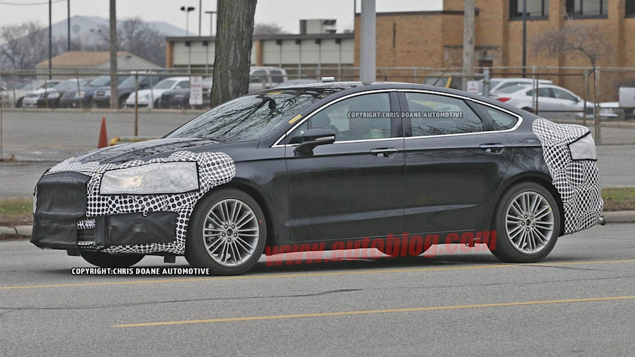2017 Ford Fusion Spy Shots Apr 10, 2015 Photo Gallery ...