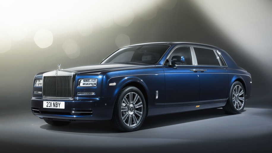 blue rolls royce phantom limelight collection