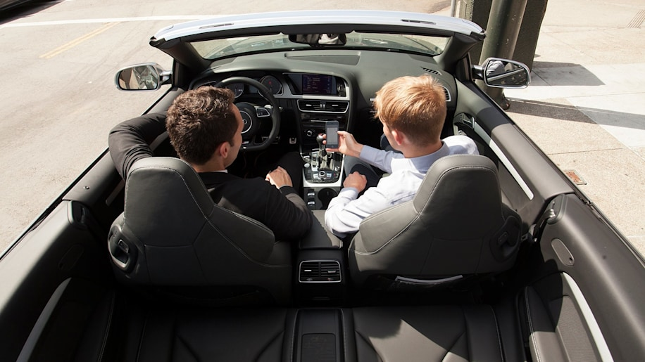 Audi on Demand cockpit cabin personal conceirge
