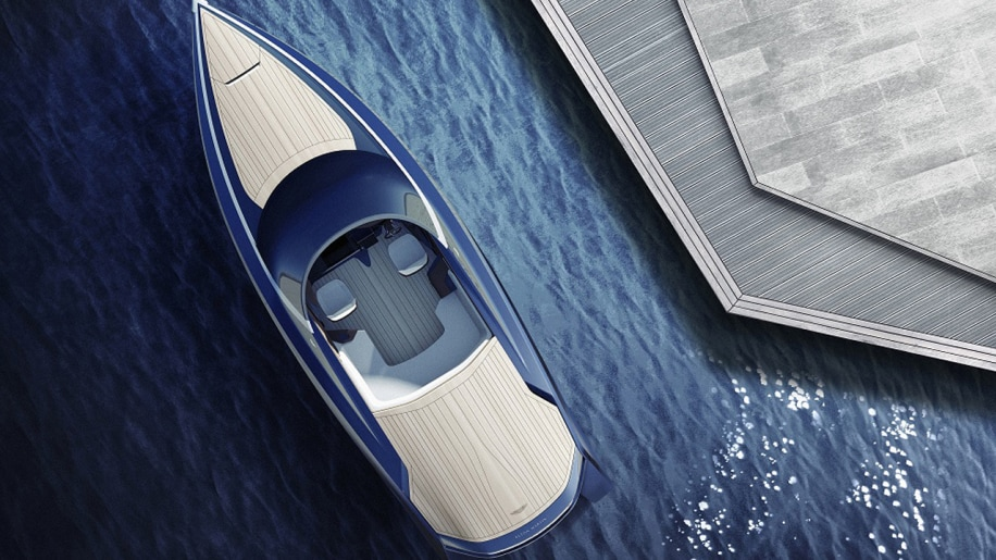 Quintessence AM37 speedboat yacht design