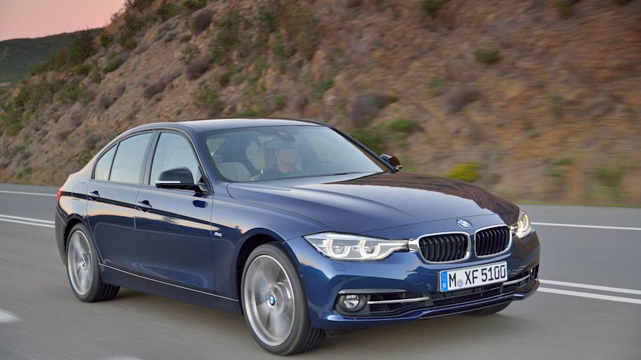 blue 2016 bmw 3 series refresh