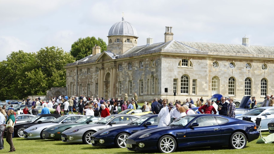 2015 Aston Martin Owners Club Spring Concours DB7