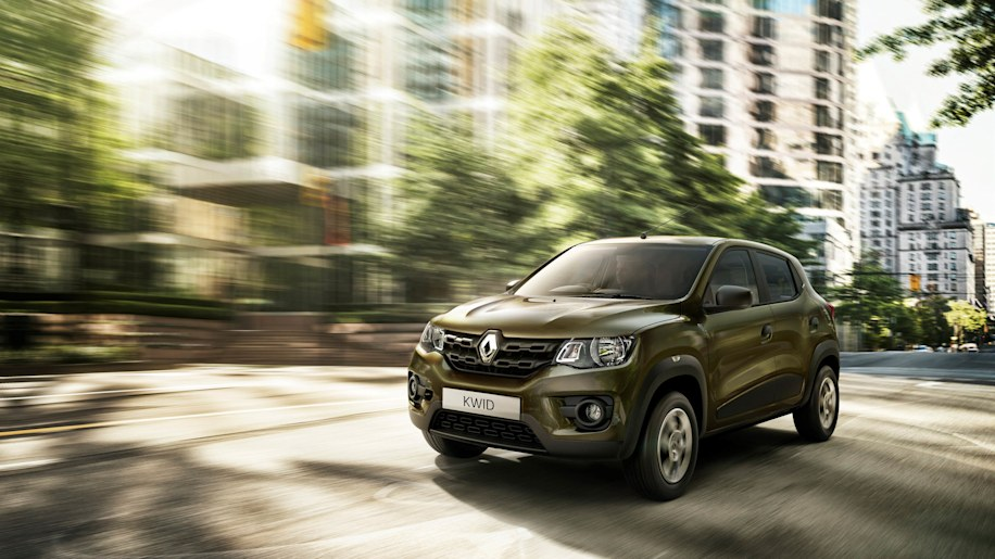 Renault Kwid motion front 3/4