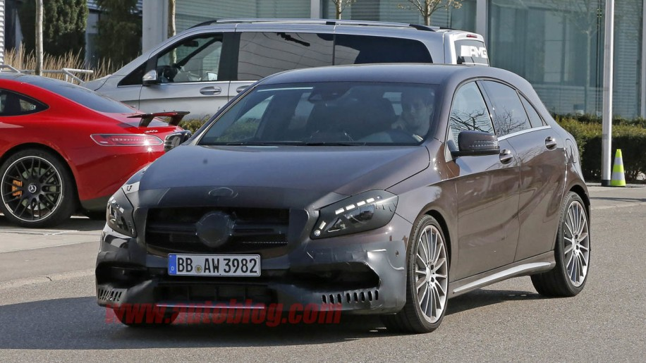 Mercedes-Benz A45 AMG prototype front