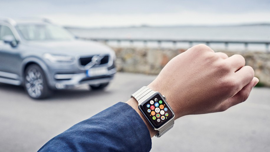 Volvo On Call for Apple Watch
