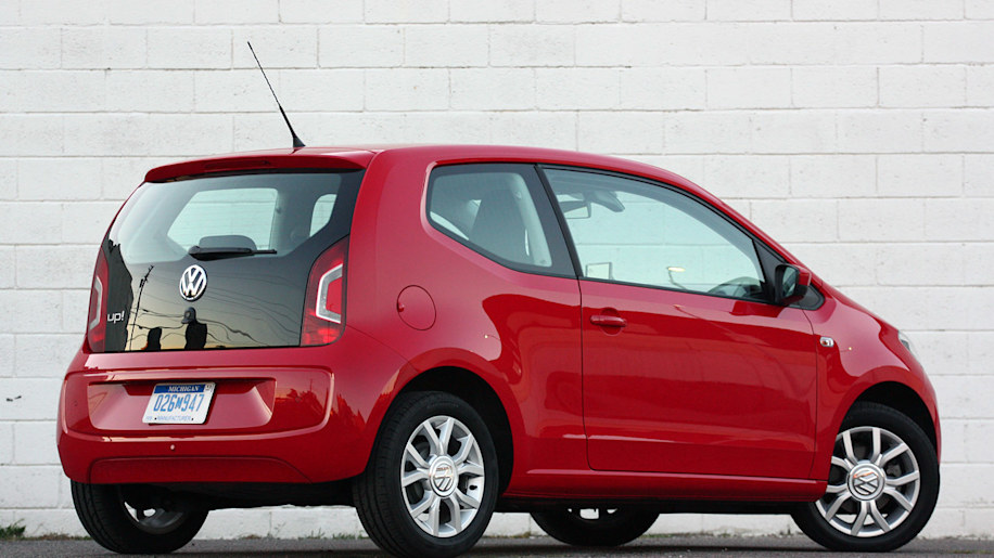 volkswagen up! red rear