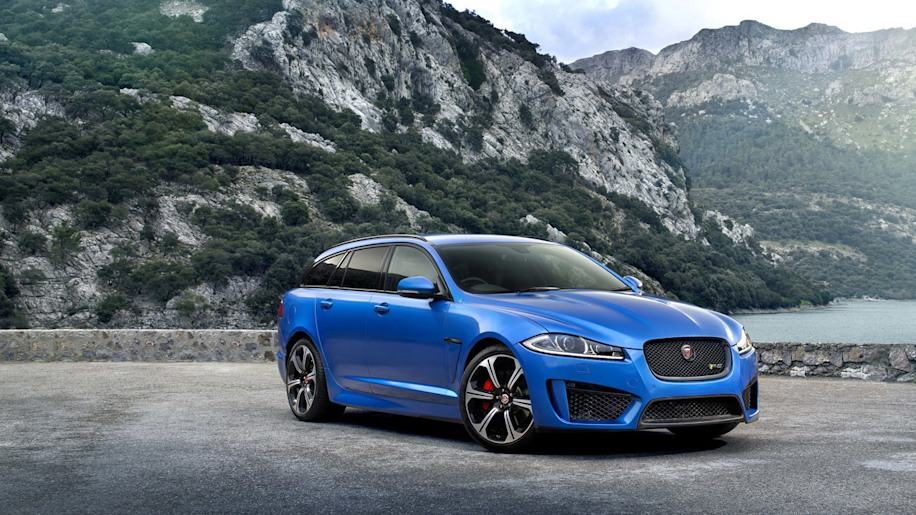 jaguar xfr-s sportbrake blue mountains forbidden fruit cars