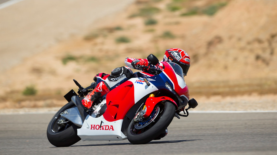 honda rc213v-s on track