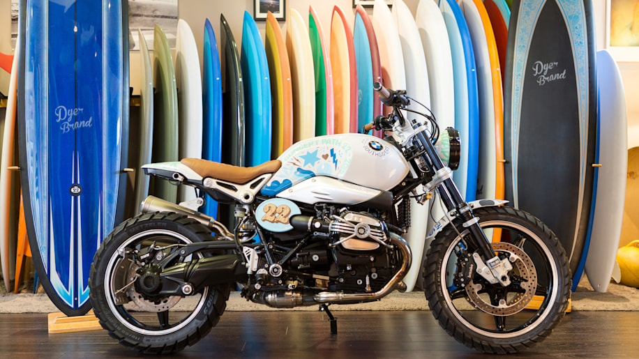 BMW Concept Path 22 surf board shop right side