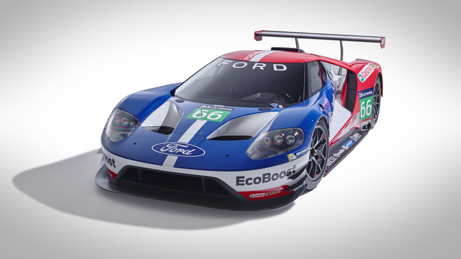 Ford GT LM GTE Pro front 3/4