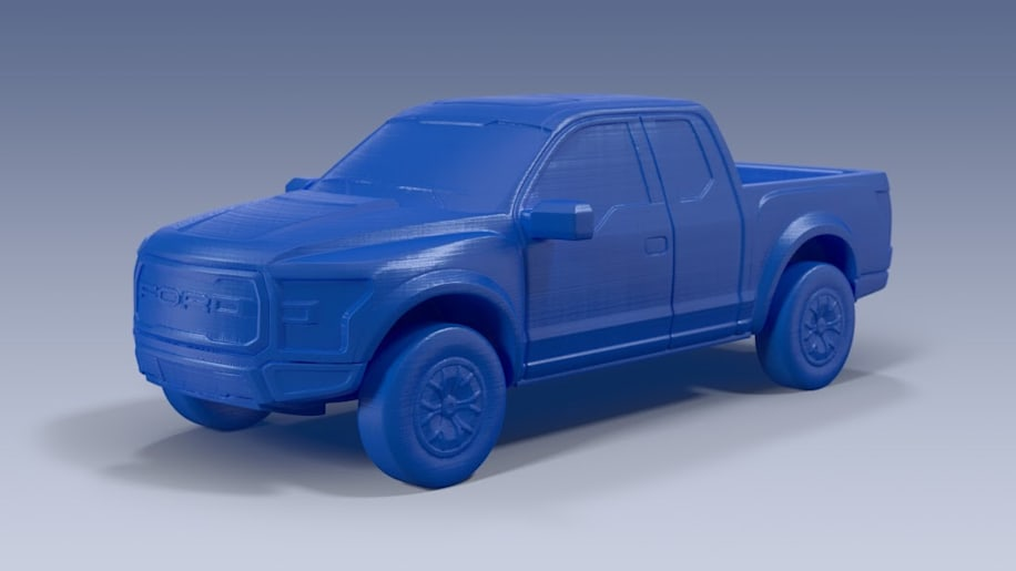 Now you can 3D print your favorite new Ford