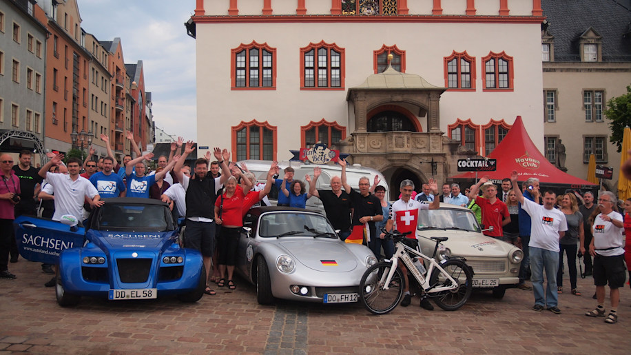 The start of WAVE 2015 in Plauen, Germany