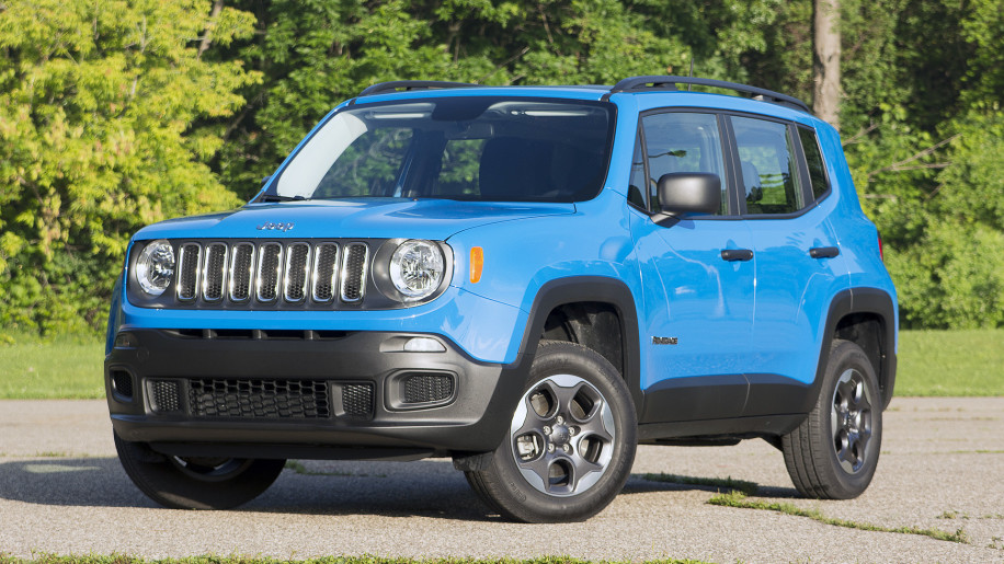 2015 Jeep Renegade front 3/4