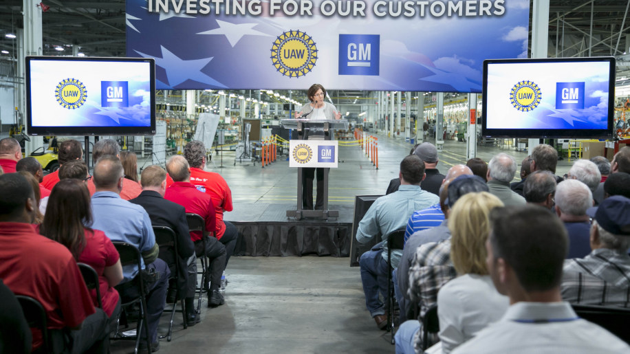 GM Orion Assembly Plant investment