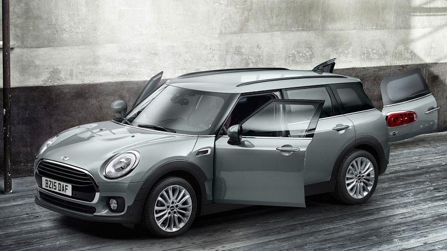 2016 Mini Clubman Cooper D front 3/4