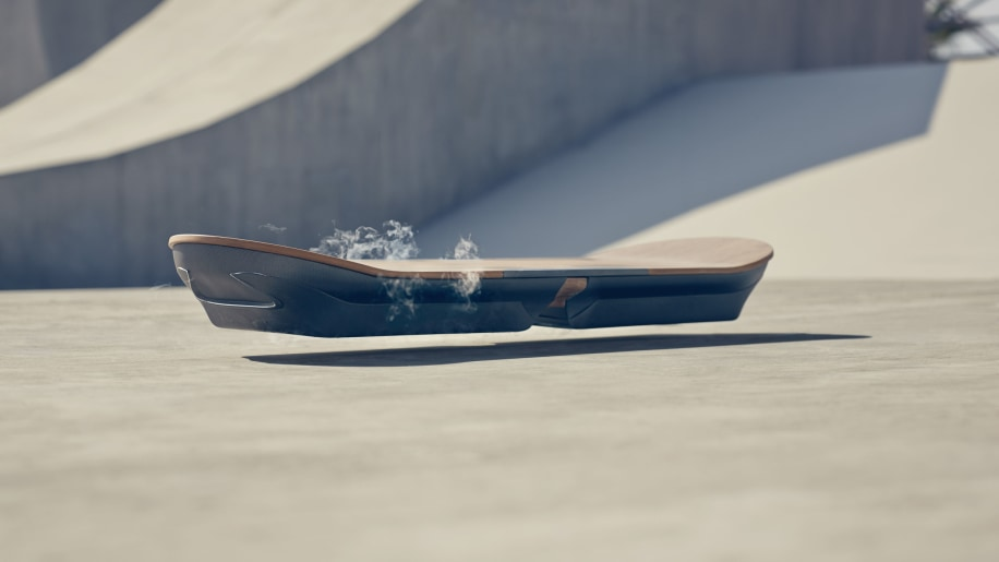 lexus hoverboard front three quarters