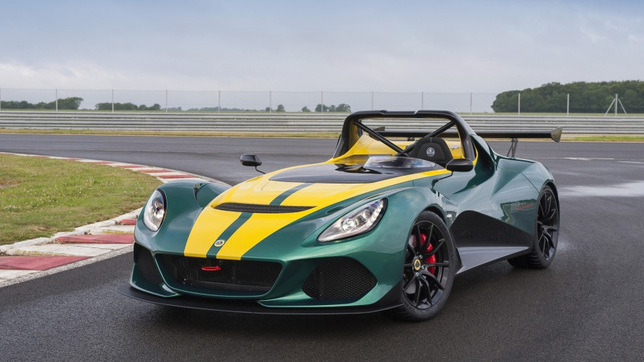 Lotus 3-Eleven front 3/4