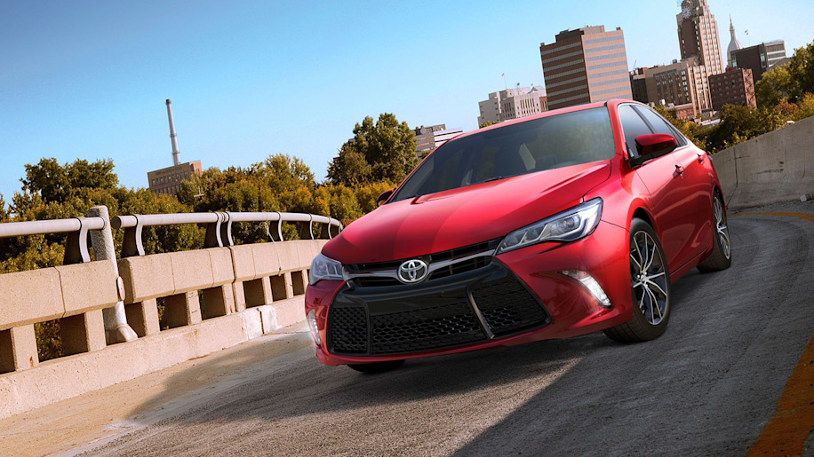 red 2015 toyota camry