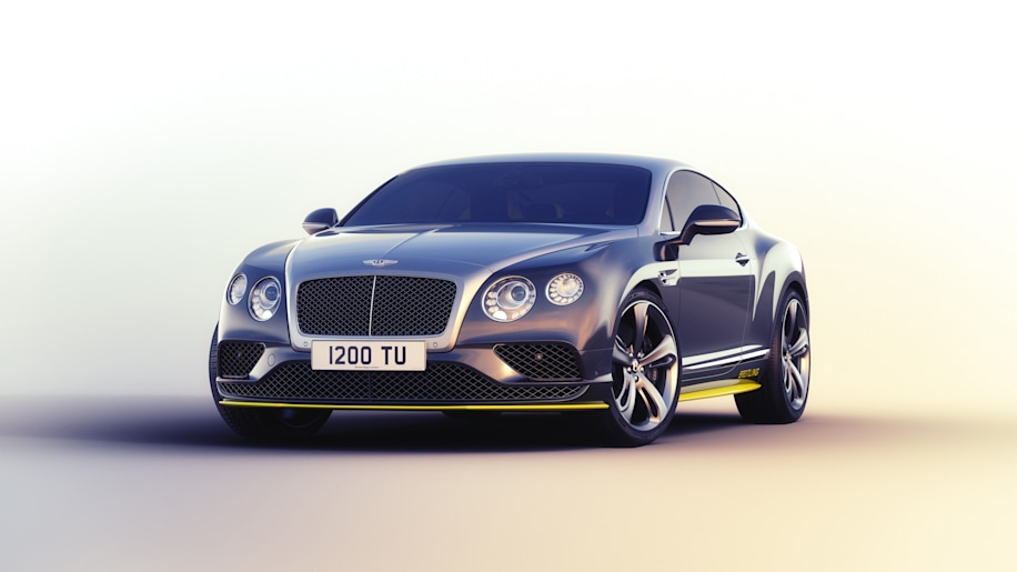 Bentley Continental GT Speed Breitling Jet Team Series Limited Edition front 3/4