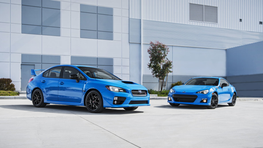 2016 subaru hyper blue sti and brz