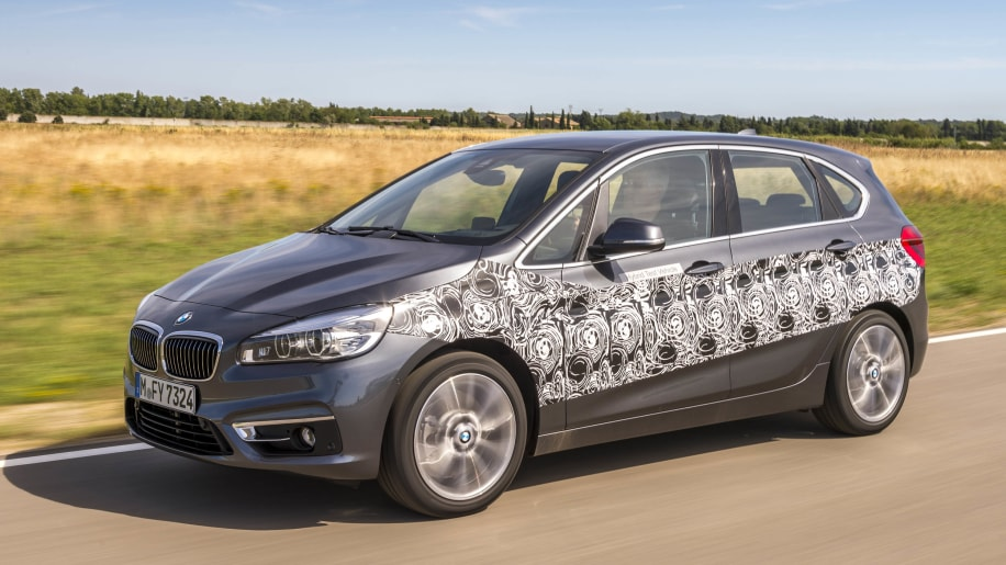 bmw 2 series active tourer plug-in hybrid prototype