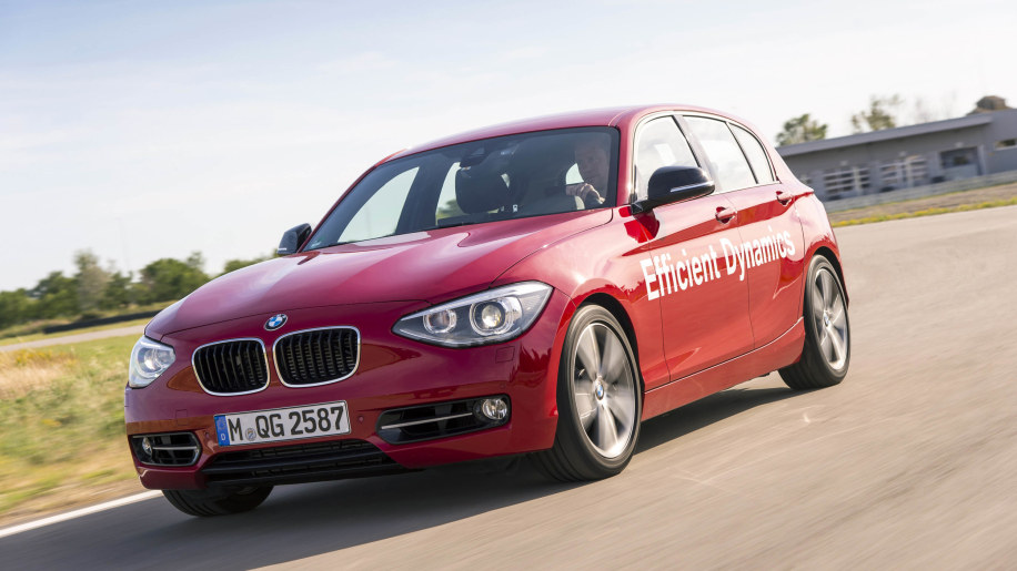 BMW 1 Series with Direct Water Injection Technology