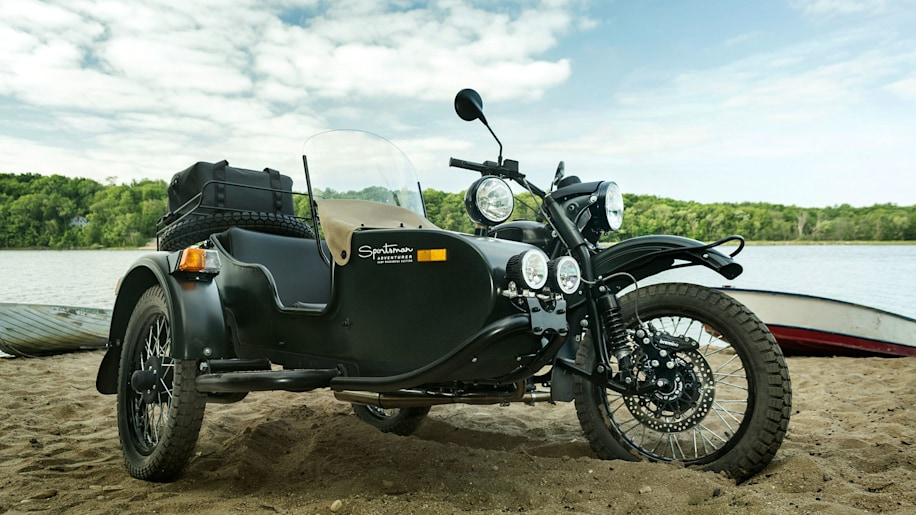 green ural motorcycles sportsman