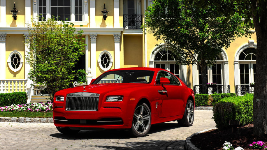 rolls-royce wraith st james front 3/4