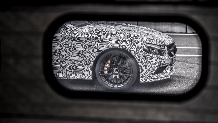 Mercedes-AMG C63 Coupe teaser