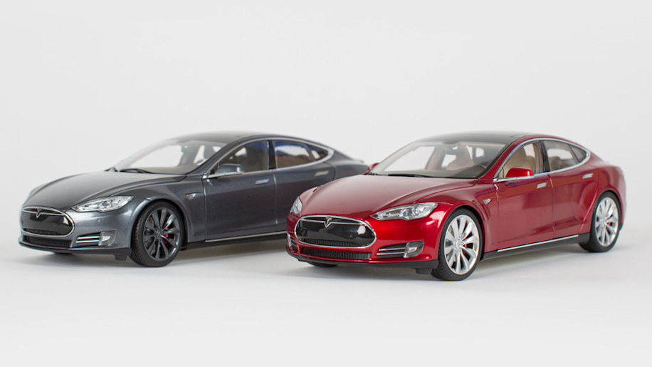 even diecast tesla model s toys are expensive   autoblog