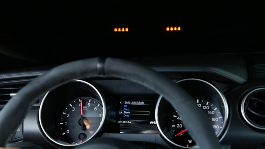ford mustang shebly gt350 shift light indicator