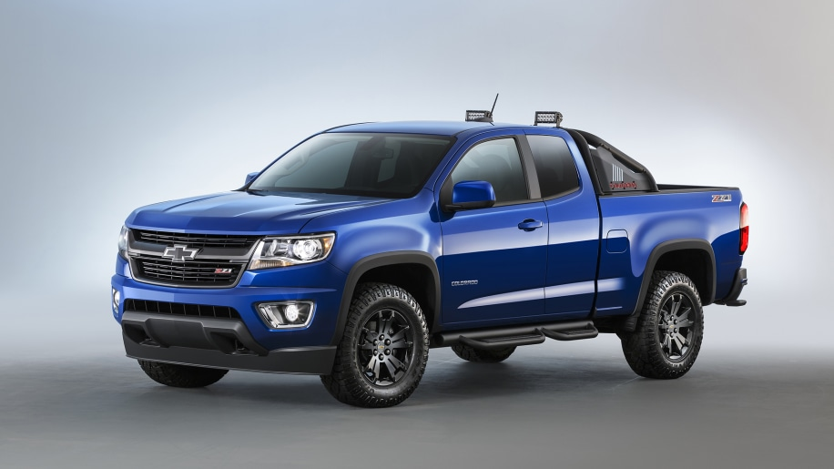 2016 Chevrolet Colorado Z71 Trail Boss Photo Gallery ...