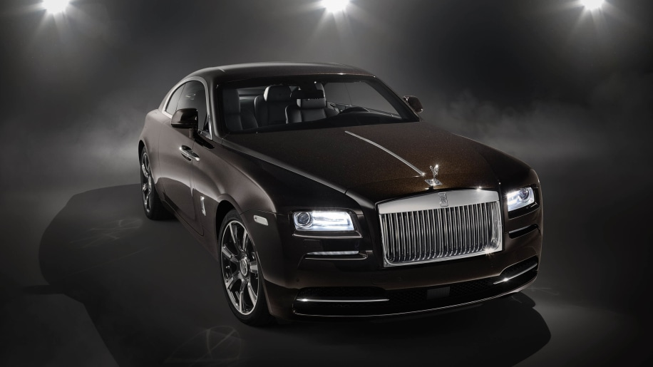 Rolls-Royce Wraith Inspired by Music front 3/4