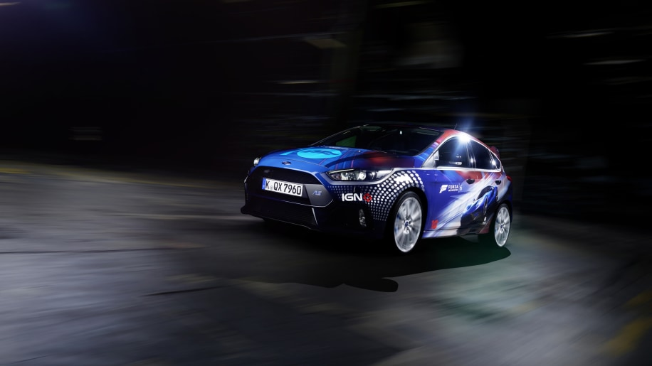 2016 Ford Focus RS Forza 6 livery front 3/4