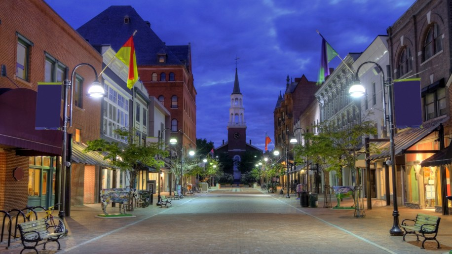 Burlington is the largest city in the U.S. state of Vermont. With a population of 38,889 the city is the core of one of the nation's smaller metropolitan areas, and is also the smallest U.S. city to be the largest city in its state.
