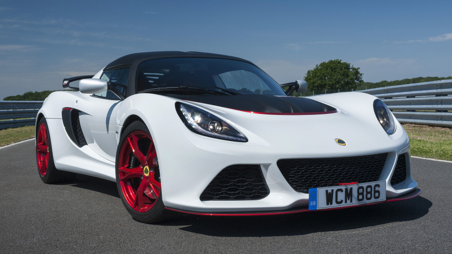 white lotus exige 360 cup front three quarters