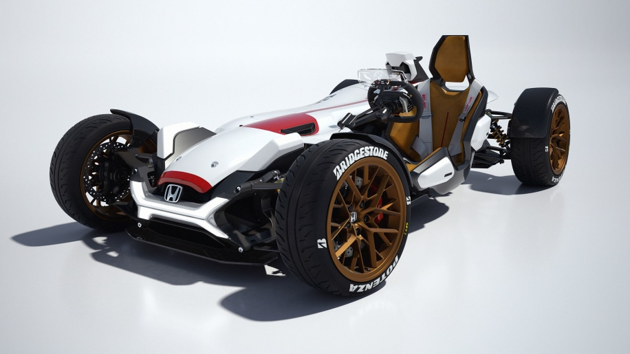 honda project 2 and 4 concept front
