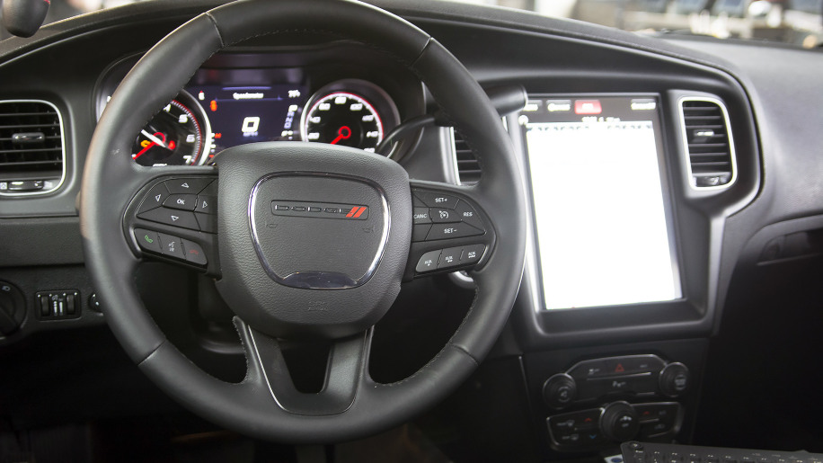 Pursuit Dodge Charger Interior Steering Wheel Uconnect
