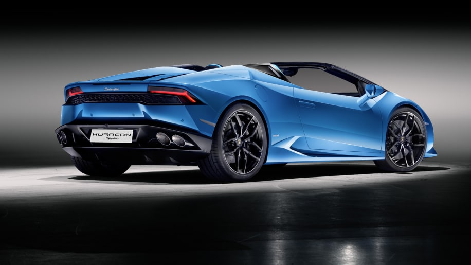 lamborghini huracan spyder promises 201 mph top speed autoblog. Black Bedroom Furniture Sets. Home Design Ideas